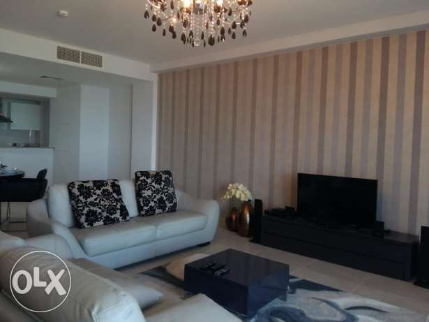 Sea view one bedroom fully furnished for rent