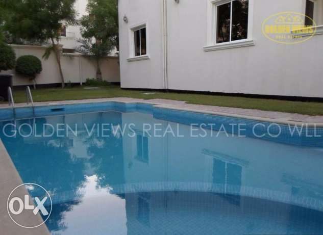 5 Bedroom semi furnished villa with large private pool,garden - inclus