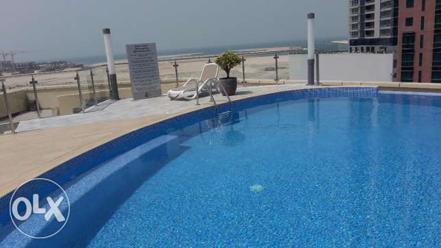 Sea view Brand new 2 BR in Seef