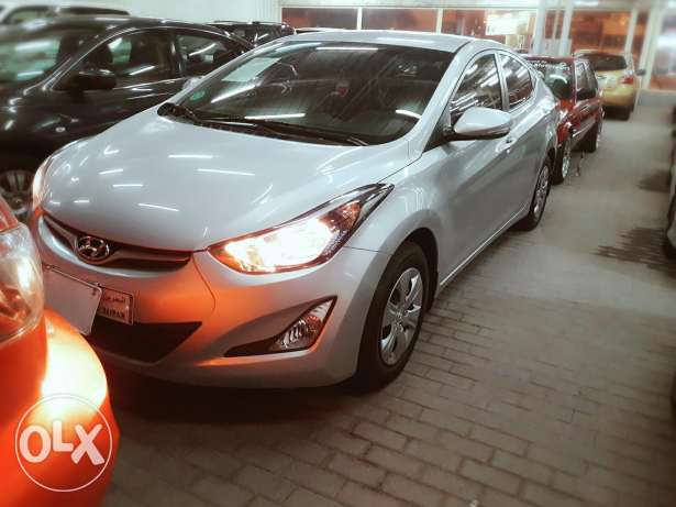 Hyundai Elantra 1.8 model 2015 for sale cash and installments banks
