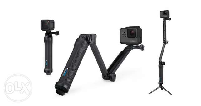 GoPro 3-Way Camera Mount ,Grip, Extension Arm or Tripod