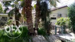 BARBAR 4 BR luxurious SEMI Single storey Villa with Private GARDEN