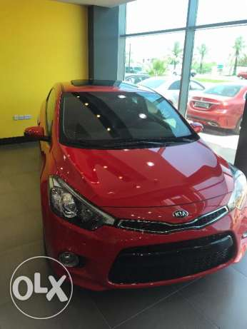 Brand new Kia Cerato Coupe