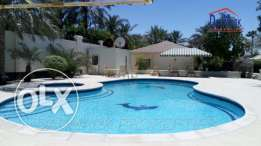 SAAR 1BR Fully Furnished Villa with Private Garden for rent Inclusive