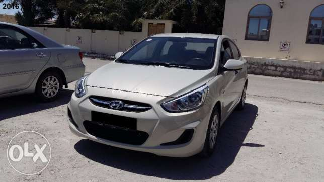2016 model Well maintained Hyundai Accent