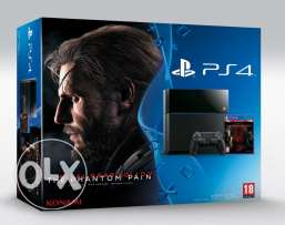 Ps4 500gb with paintom pain bundles