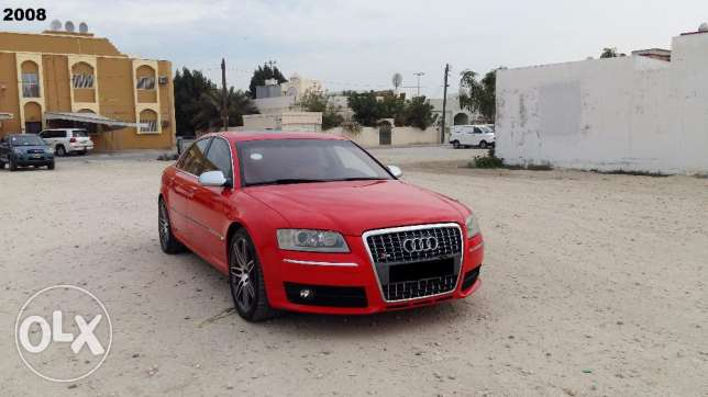 2008 model Audi S8 (Immaculate condition)