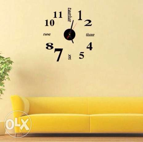 Frameless miniwallclocks