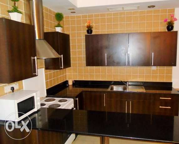 Beautiful 2 bedroom flat in Adliya f-furnished