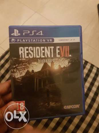 PS4 Resident Evil for Sale or Exchange