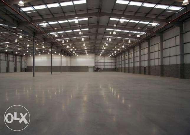 WAREHOUSE for Rent in all areas