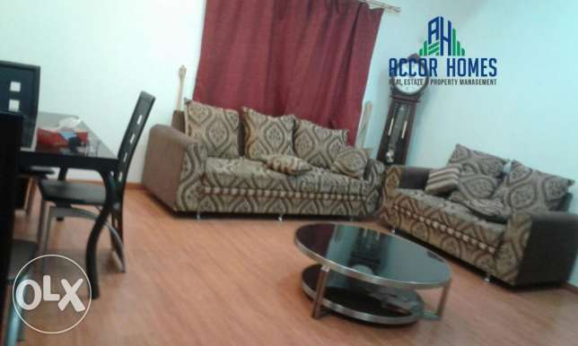 Spacious, fully furnished 2 BHK flat in Hidd 350/month
