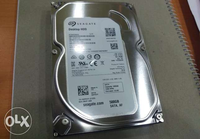 500 GB Hard Disk for Desktops