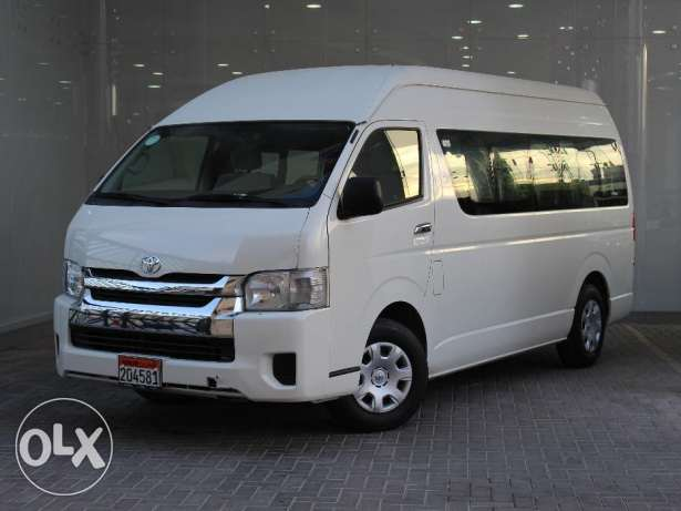 Toyota HIACE 16 Passenger High roof 2016 White For Sale
