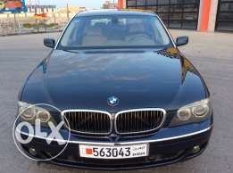 For Sale 2007 BMW 750LI Bahrain Agency