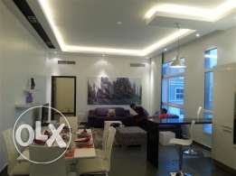 stylish 2 bedroom furnished apartment with modern furniture