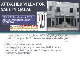 New Villa for sale in Qalali