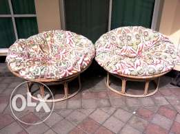 Outdoor Cane Seatings