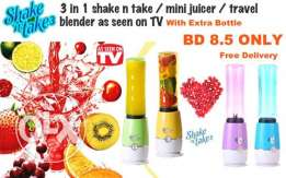 3 in 1 shake n take mini juicer