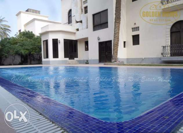Grand 5 Bedroom semi furnished villa with privatepool,garden