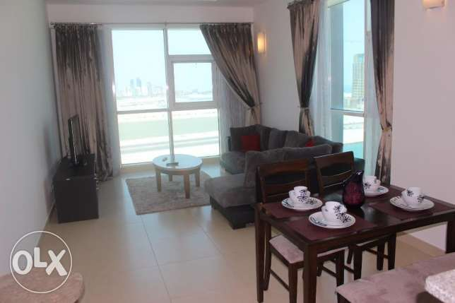 Maids room / Balcony / Sea view 2 BR in Seef