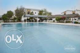 Green 3 Bedroom compound villa with private pool in Barber