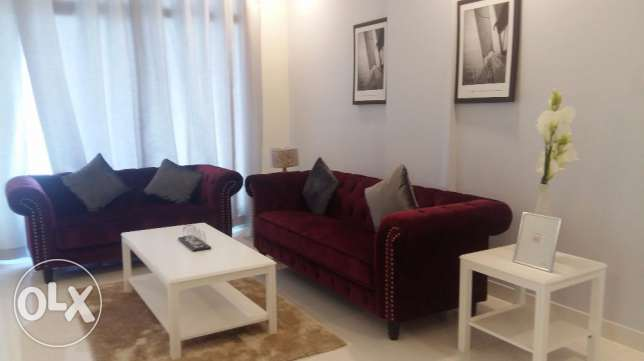 Brand new 2 Bedrooms apartment with modern furniture fully furnished n جزر امواج  -  2