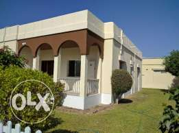 3 Bedroom semi furnished villa with large private garden - inclusive
