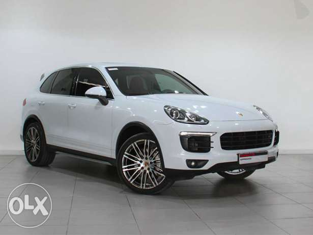 Porsche Cayenne S Approved WHITE 2015