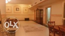 three bedroom, fully furnished with pool gym,ply ground,souna