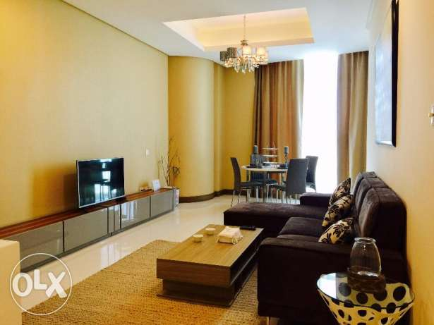 1 bed Luxury apartment for Sale in Seef area on top floor.