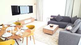 Two BHK flat for rent with a beautiful balcony Fully-Furnished