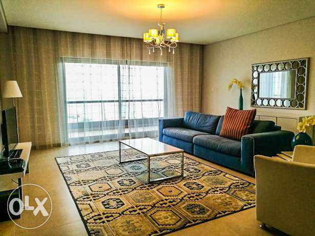 Brand New Furnished Sea View 1 BR Apartment