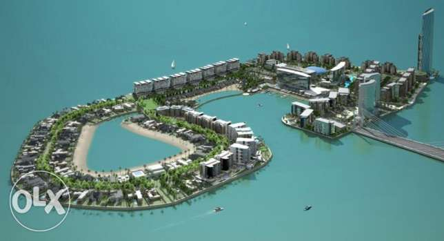 for rent luxury apartment in Reef Island, sea view