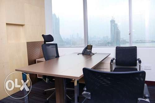 Full fitted sea view exceucitve office at BAH WORLD TRADE CEN BD. 400