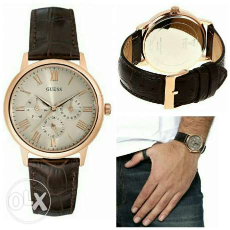 New guess men's watch for sale جد علي -  1