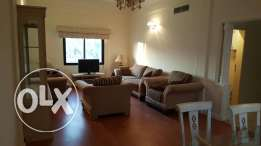 2bhk fully furnished flat in zinj inclusive Bd 550 negotiable