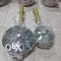 cook ware set stainless steel For sale