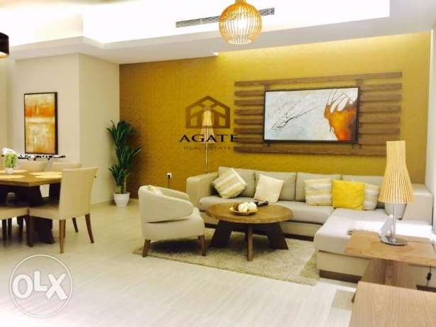 Brand new 1 bedrooms luxury apartment for rent in Amwaj-Island