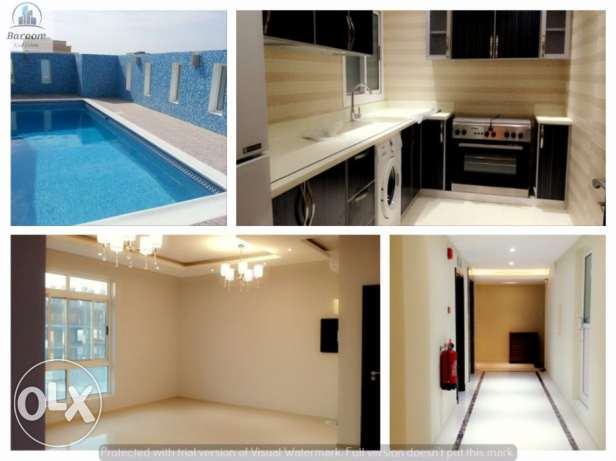 2 Bedroom Semi furnished flat in NEW HIDD/Inclusive جفير -  7