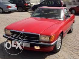 For Sale 1985 Mercedes Benz 500SL Convertible Japan Specification