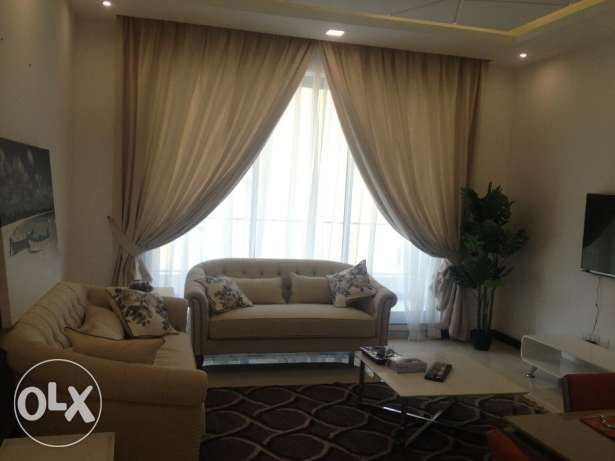 Brand new fully furnished apartment for renr in janabiya rent 450
