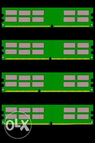 Different RAM for Sale (DDR1,DDR2,DDR3,DDR4)