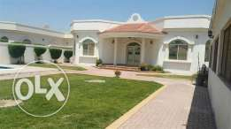 JBA20 3br semi furnished villa with private pool or garden in janabiya