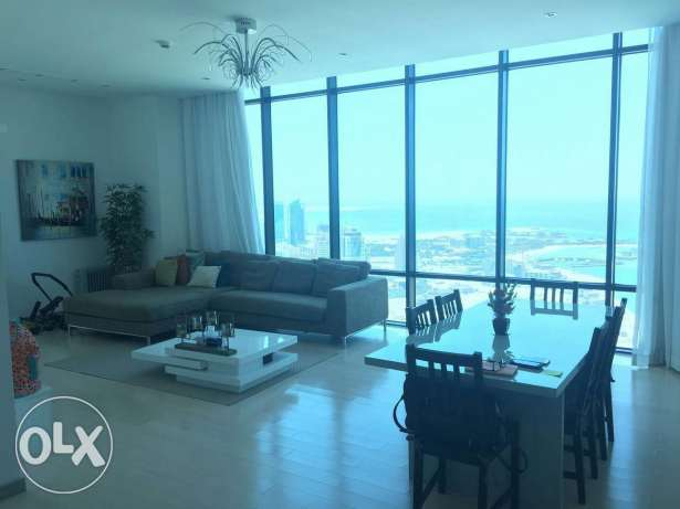 Spacious sea view 2 BR Seef