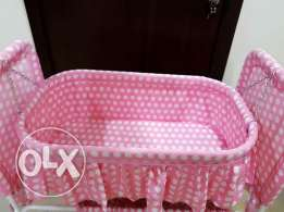Baby swing cot and car seater