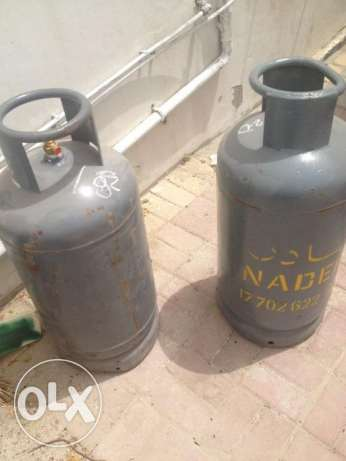 two gas cylinders for sale