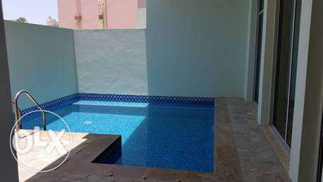 semi furnished villa in adilaya