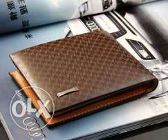Men's Genuine Leather Wallet Only for 7BD. Free Delivery.