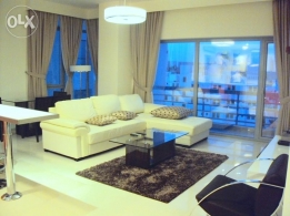 Contemporary Luxury 1 BR Flat for rent in Mahooz great facilities